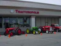 Welcome to Tractoropolis ! We are your vintage tractor