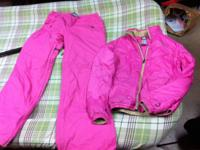 Woman's nike snowboard jacket and pants Worn once Size