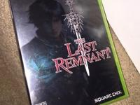 NEW XBox 360 The Last Remnant SEALED! RARE! XBOX 360
