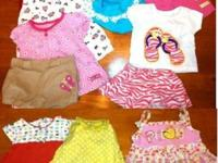 35 items total: 10 short sleeve onesies, 5 - 2 piece