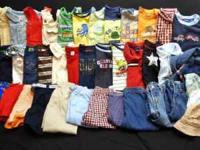 I have lots of Baby boys clothes & shoes Click on the