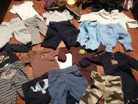 Newborn baby boy clothes in excellent condition! You