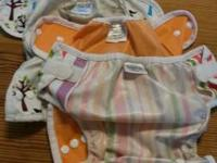 Gently used newborn diaper covers. 3 thirsties duo size