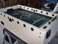This is for a Newcastle butcher block design foosball