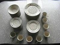 DINNERWARE.  I have a NEW set of Newcor Stoneware that