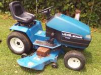 "FOR SALE IS A 48""CUT HYDRO DRIVE NEW HOLLAND LAWN"