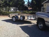 Recently rebuilt 6' x 10' Trailer with Calif. License.