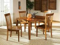 NEWPORT DINING TABLE SET * Made of solids and veneers *