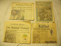 These are three newspapers and a special Sunday