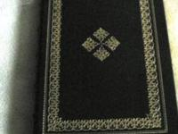 THIS LEATHER BOUND FIRST EDITION is personally signed