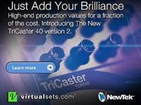 NewTek TriCaster 40 v2. Brand name New. Sold by the