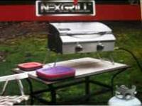 Nexgrill Portable Table Top Stainless Steel Gas Grill