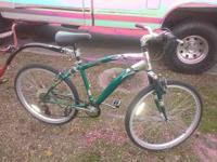 I had a green next mountain bike,avalon ,, very good