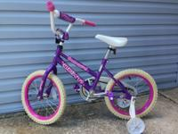 - Single speed with training wheels - Perfect size for