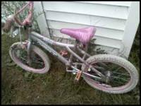 i have a nice girls bike for sale..in good