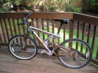 Next 21 speed mountain ridge bike with full suspension