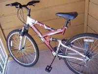 Bike is in great condition almost new with no rust on