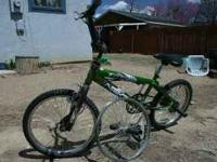For Sale is a NEXT BMX bicycle. The bike is in great