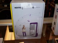 Nextel Motorola Model: I776w Nextel direct connect