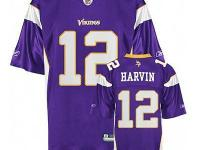 Percy Harvin Vikings NFL Jersey. size: 52