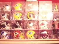 I have the full set of authentic mini football helmets.