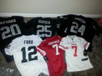 I have a bunch of jerseys up for sale.  I have mostly
