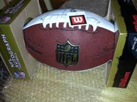NFL OFFICIAL SIGNED WILSON NEW ENGLAND PATRIOTS