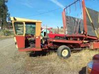 NH 1048 Balewagon great running condition good rubber