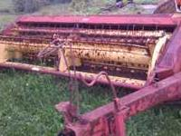 Here is a 9 foot NH haybine 900 obo  call or text if