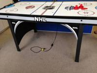 NHL 66in Air Powered Hockey Table with BONUS Table