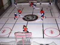 "Halex NHL 45"" rod hockey FEATURES: Deep 9"" cabinet"