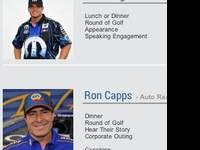 Enjoy a VIP Race experience with Antron Brown, Matt