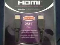 25ft vibe HDMI cable $20 Contact Kris at . Location: