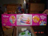 Disney Princess 3-D Bed Rail New In Box!!!! Retails for