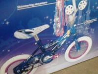 "It is a 12"" huffy princess bike. It is brand new in the"
