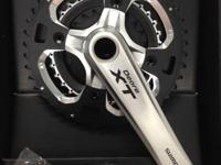 Cleaning out the back room, new in box crank, includes