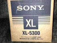 For sale is a Sony XL-5300 TV Lamp Module for a KDS-