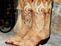 New In Original Box Justin Ladies Cowhide Bent Rail