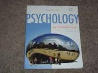 Intro to Psychology by Benjamin B Lahey. Newest