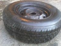 "I have a P215/75/14"" tire and rim that I would like to"