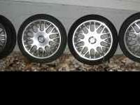 "Newer Rage brand aluminum wheels that are 16""X 6.5"""
