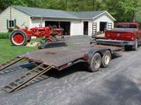 "16' LONG X 82"" WIDE, DIAMOND PLATE STEEL DECK WITH ""D"""
