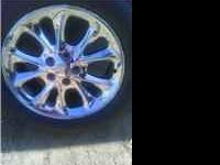 NEED TO SELL 17' RIMS/TIRES---240.00 CALL FOR MORE INFO