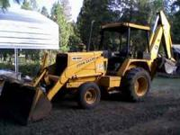 I have a nice 1983 2x4 John Deere 410b turbo backhoe