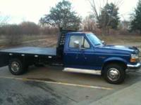 Super nice 1997 Ford F350 ton truck with new 9ft steel