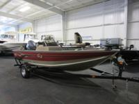 NICE 2007 G3 V172 ANGLER SC WITH ONLY 138 HOURS! A 115
