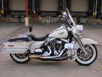 2007 Harley Davidson FLHP Road King. This is the 103