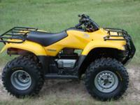2007 Honda Recon 250. Great running reliable Honda with