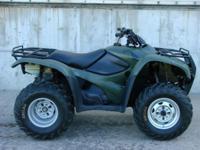 2008 Honda Rancher 420 4x4. Super clean, excellent