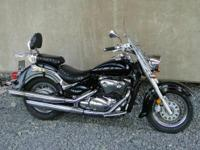 Nice '08 Suzuki Boulevard C 50T. Great running touring